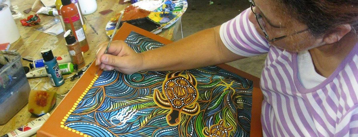 Authentic Indigenous Paintings
