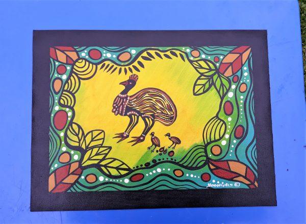 Cassowary Painting