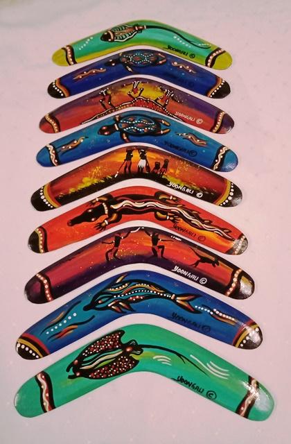 Small Souvenir Boomerang