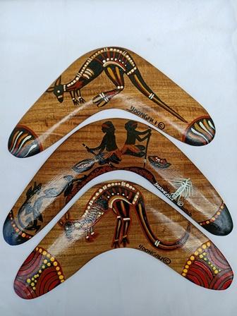 Wooden Boomerangs